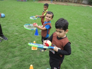 Toddlers Lawn tennis